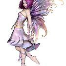 Pretty Purple Fairy by algoldesigns