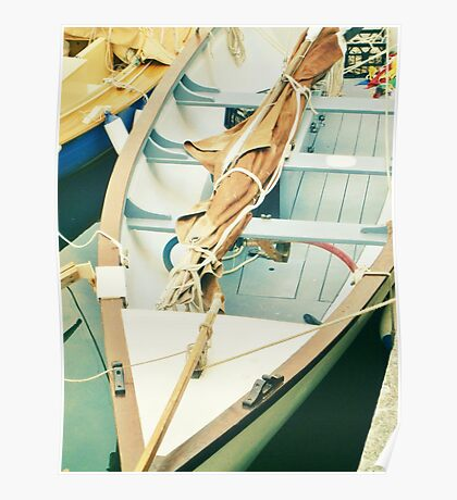 Little Wooden Boat Poster