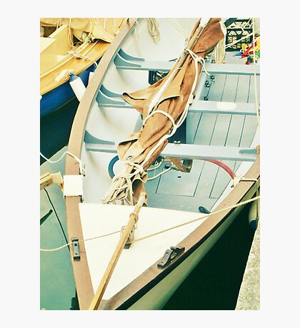Little Wooden Boat Photographic Print