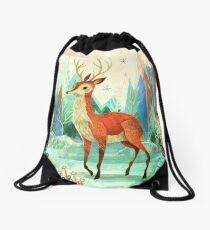 Deer  Drawstring Bag