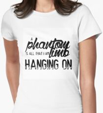 Marianas Trench Phantom Limb One Love Women's Fitted T-Shirt