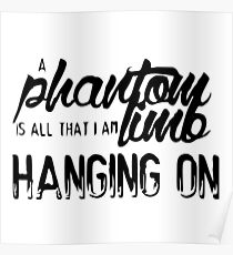 Marianas Trench Phantom Limb One Love Poster