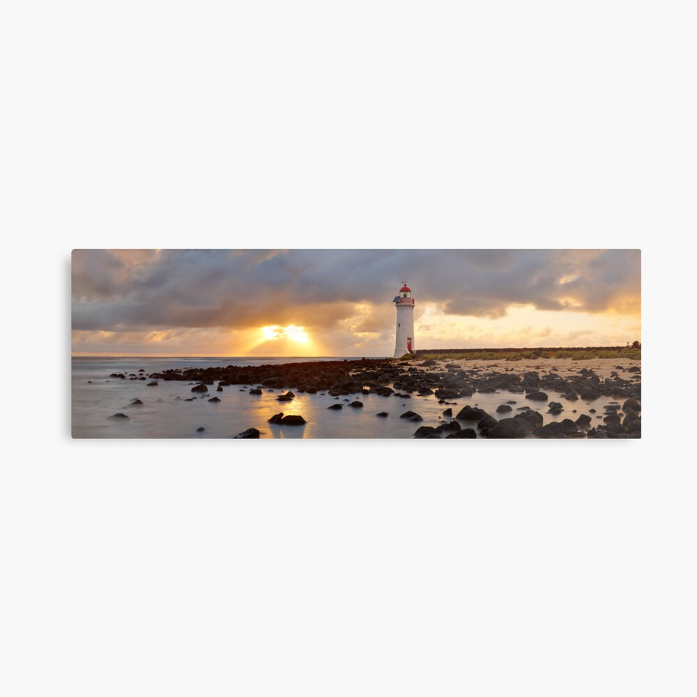 Port Fairy Lighthouse, Victoria, Australia Metal Print