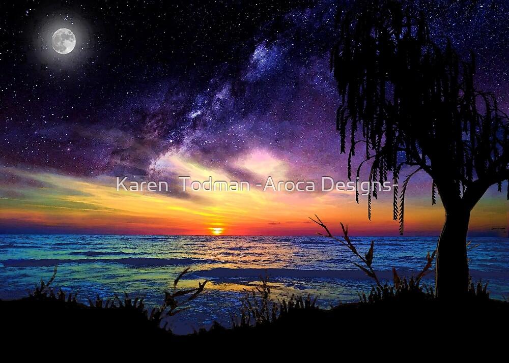 Impossible sky by Karen  Todman -Aroca Designs-