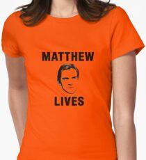 Matthew Lives Women's Fitted T-Shirt