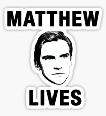 Matthew Lives Sticker