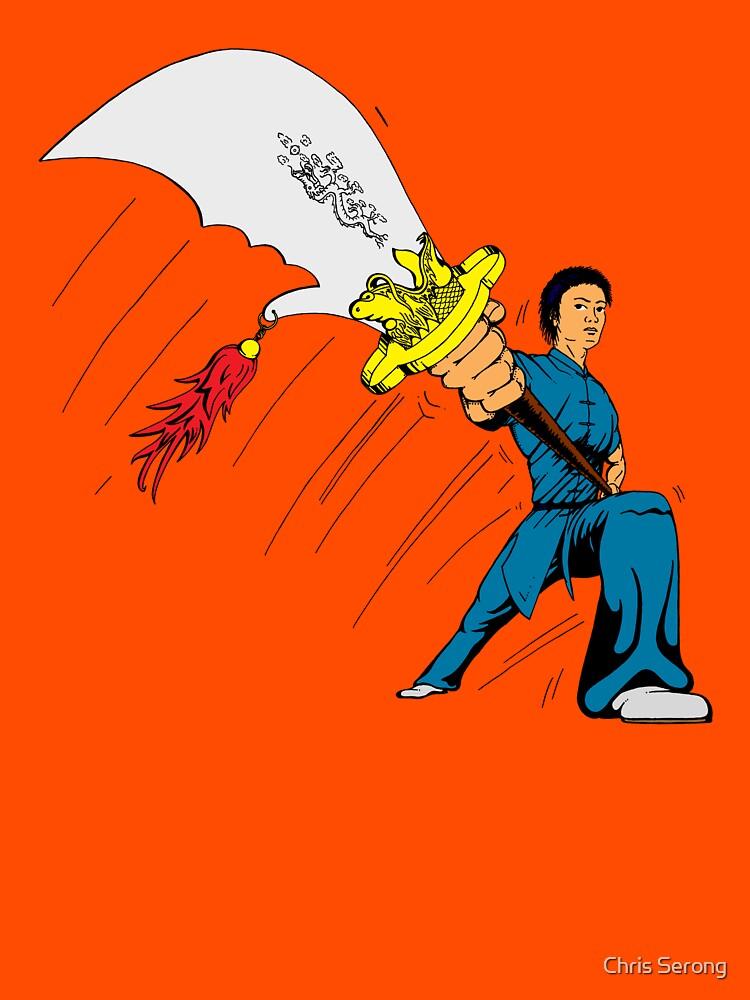 Big Knife Wushu by ChrisSerong