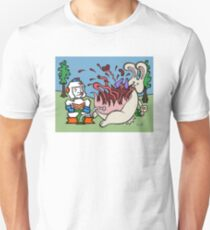 Teddy Bear And Bunny - Pop T-Shirt