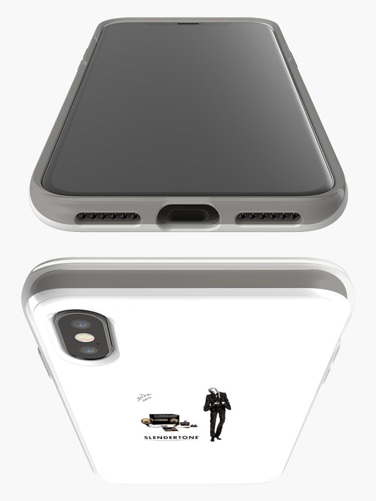 Alternate view of Slenderman iPhone Cases & Covers