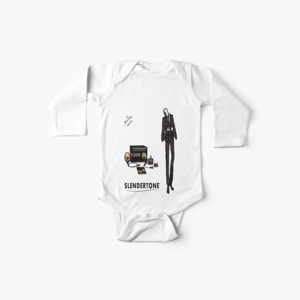Slenderman Baby One-Pieces
