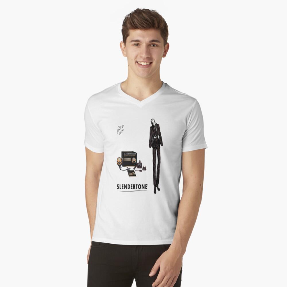 Slenderman V-Neck T-Shirt