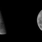 Jupiter Occultation - Feb 18, 2013 - Emergence by Sandra Chung