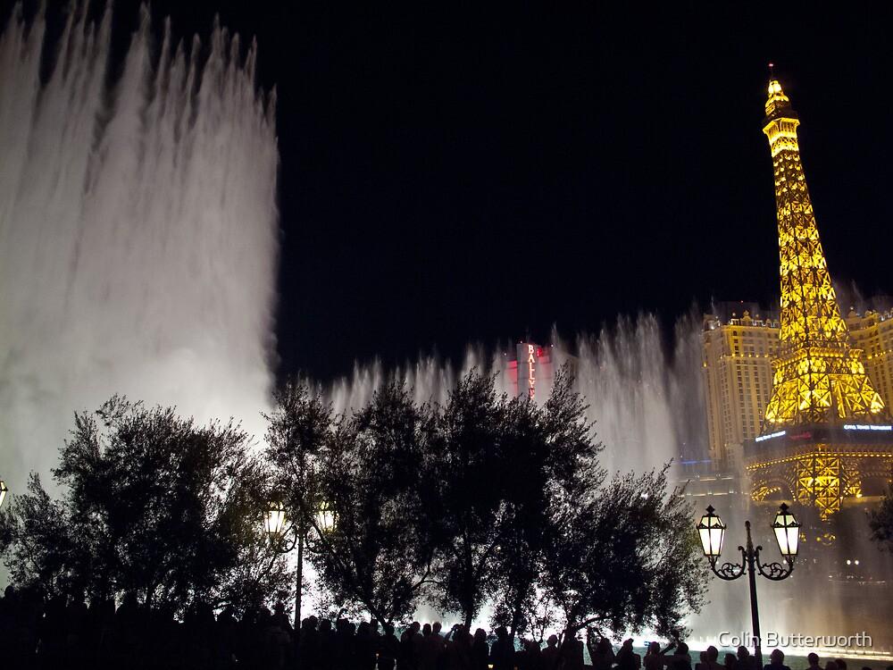 Bellagio Fountain, Las Vegas by Colin Butterworth