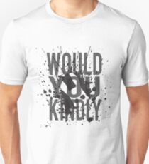 """Would You Kindly"" - Bioshock Unisex T-Shirt"