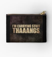 Carrying Stuff. Thaaangs Studio Pouch