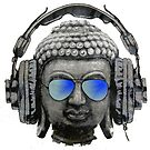 «Cool auriculares Hip Hop Groove Buda Banksy» de baray7