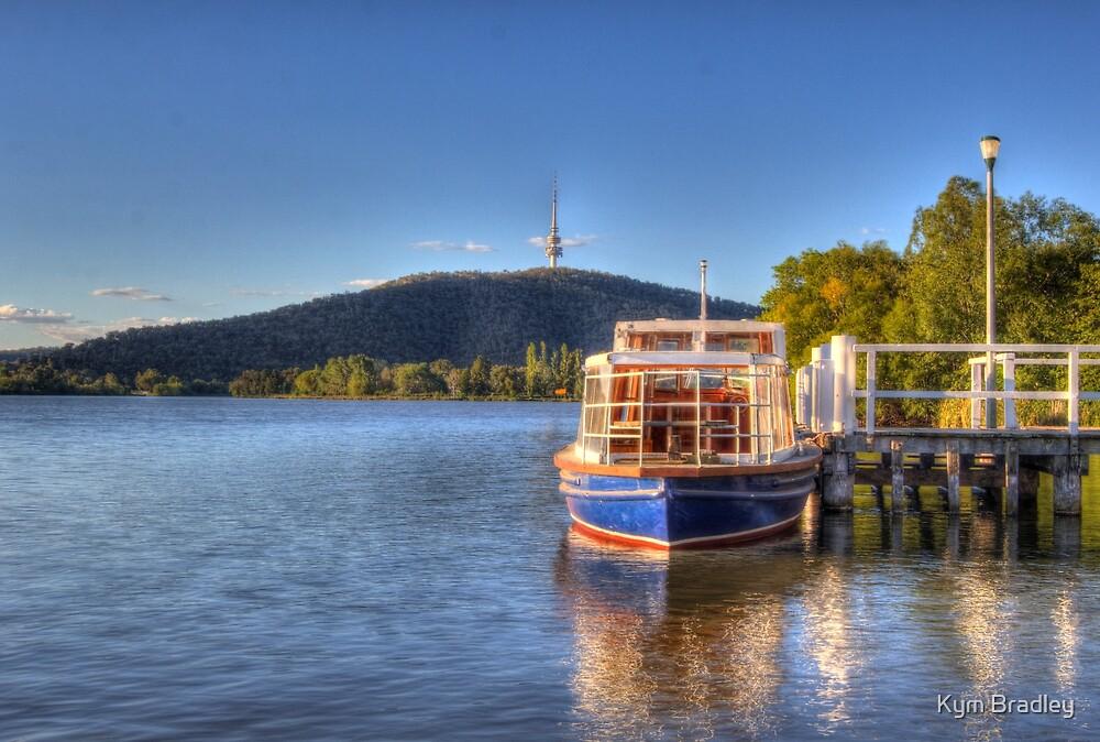 Relaxing In Canberra Australia  by Kym Bradley