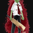 Frog of the Dead by DocArcane