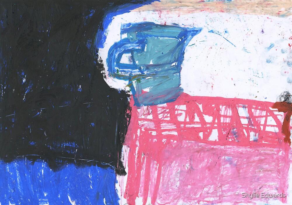 blue jug by Shylie Edwards