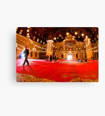 Show Me The Way - Mosque of Mohamed Ali Pasha Canvas Print