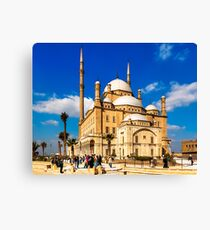 Mosque of Mohamed Ali Pasha - Cairo, Egypt Canvas Print
