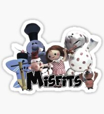 Misfit Toys Sticker