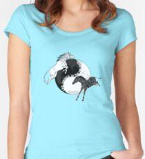 Yin Yan Horses Women's Fitted Scoop T-Shirt