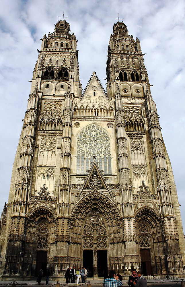 Gothic Finery - Tours Cathedral by Anthony Ogle