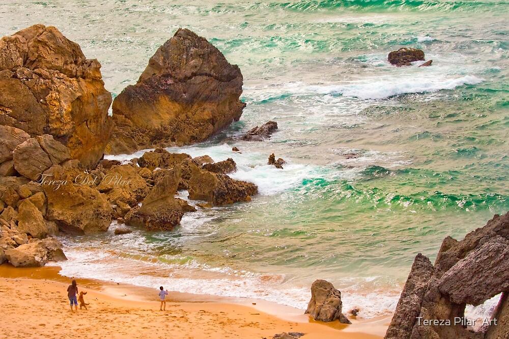 abano beach rocks by terezadelpilar ~ art & architecture