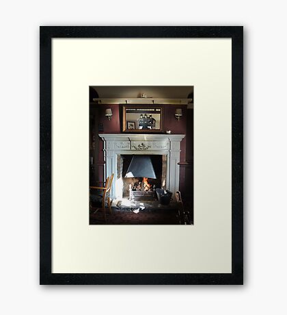 The Warmth Framed Print
