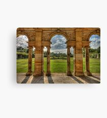 Hever Castle gardens Canvas Print
