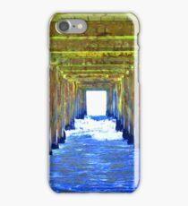 Under the pier. iPhone Case/Skin