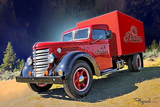 Indian Wielding Gunn's by flyrod