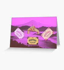 Arcana at Hanging Rock Greeting Card