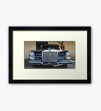 old Mercedes Framed Print