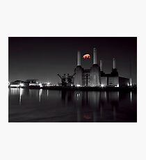 battersea Pink floyd Photographic Print