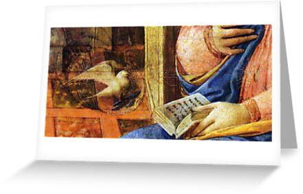 The Annunciation by Benedikt Amrhein