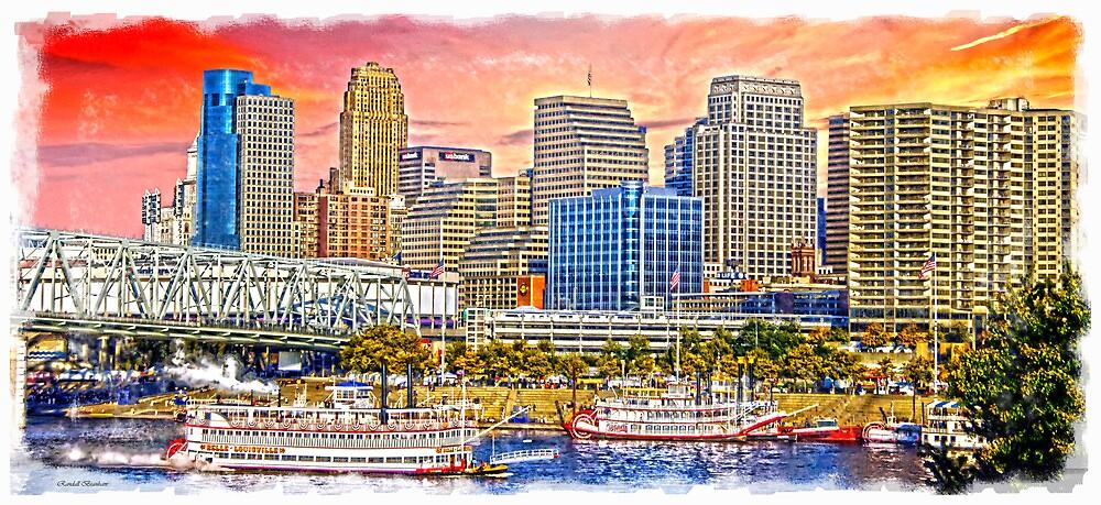 The Garish City Cincinnati by Randy Branham
