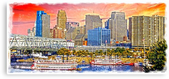 The Garish City Cincinnati by Randy Branham