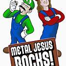 Mario Metal Jesus by metaljesusrocks
