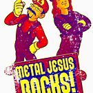 Mario Metal Jesus (Distressed) by metaljesusrocks
