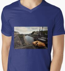 Cornish pasty by  the harbour T-Shirt