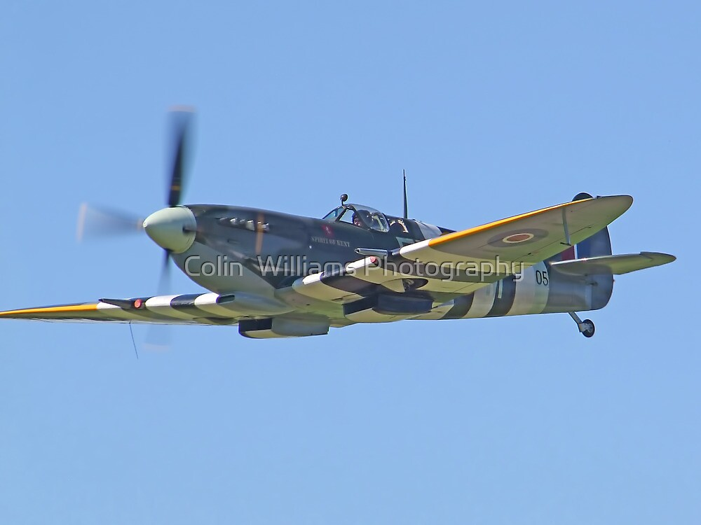 Supermarine Spitfire IX – Kent Spitfire by Colin  Williams Photography