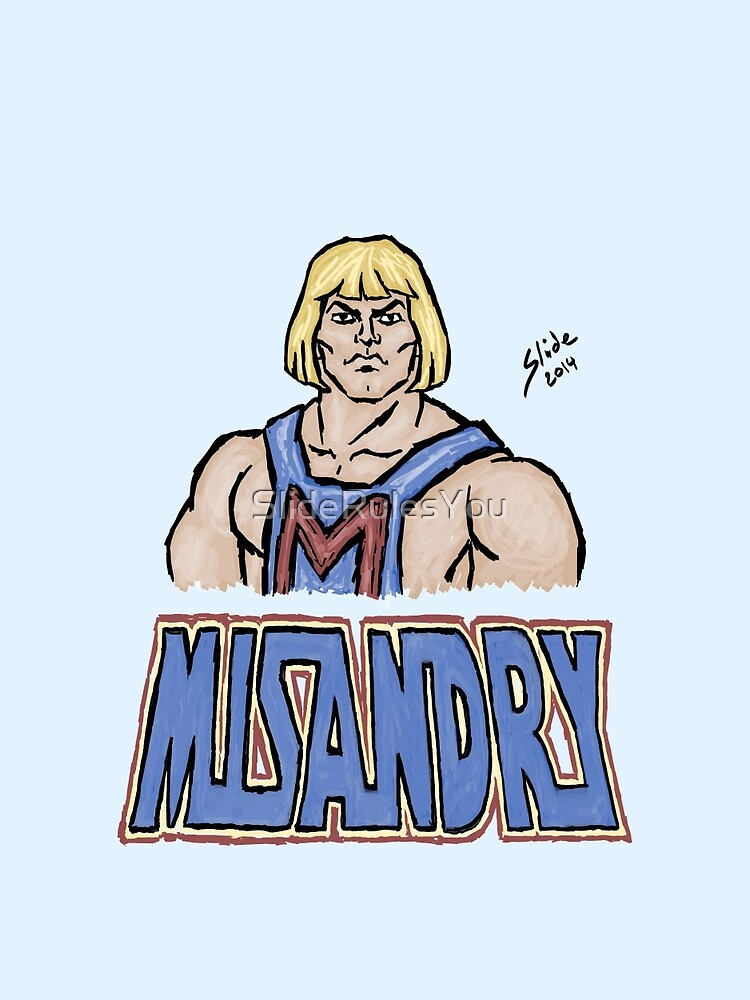 Misandry, 2014 by SlideRulesYou