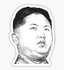 Kim Jong Un Sticker