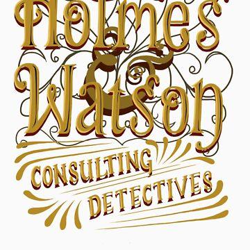 Holmes & Watson by robynhinchman