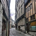 The Streets of Rouen ( 1 ) by Larry Lingard-Davis