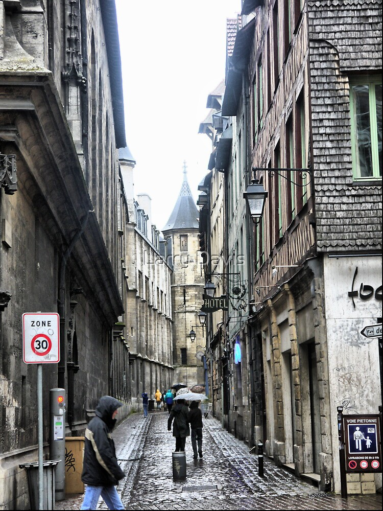 The Streets of Rouen ( 2 ) by Larry Lingard-Davis