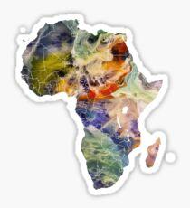 Map Africa 6 Sticker