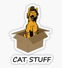 Cat  Stuff Sticker